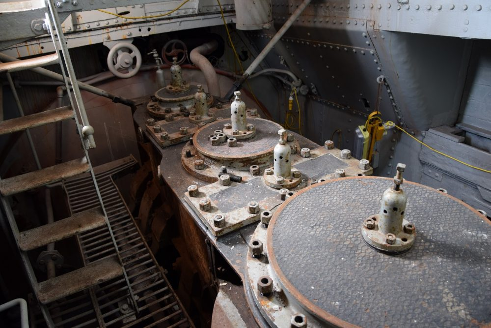 SS Robin engine room