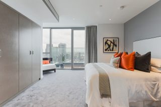 charrington penthouse, bedroom