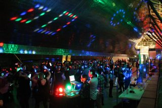 fun things to do in London for valentines day, silent disco