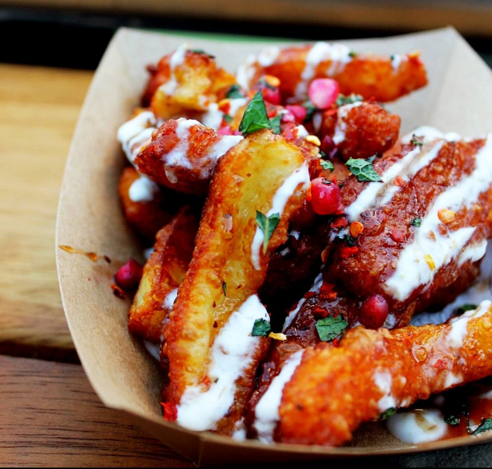 oli baba halloumi fries