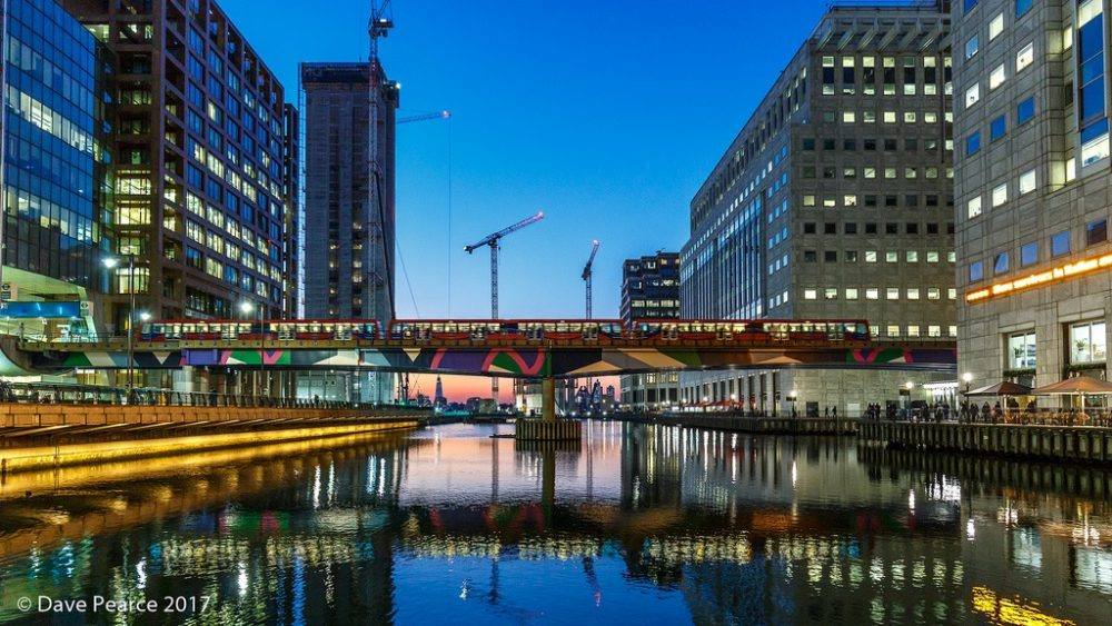 events in canary wharf
