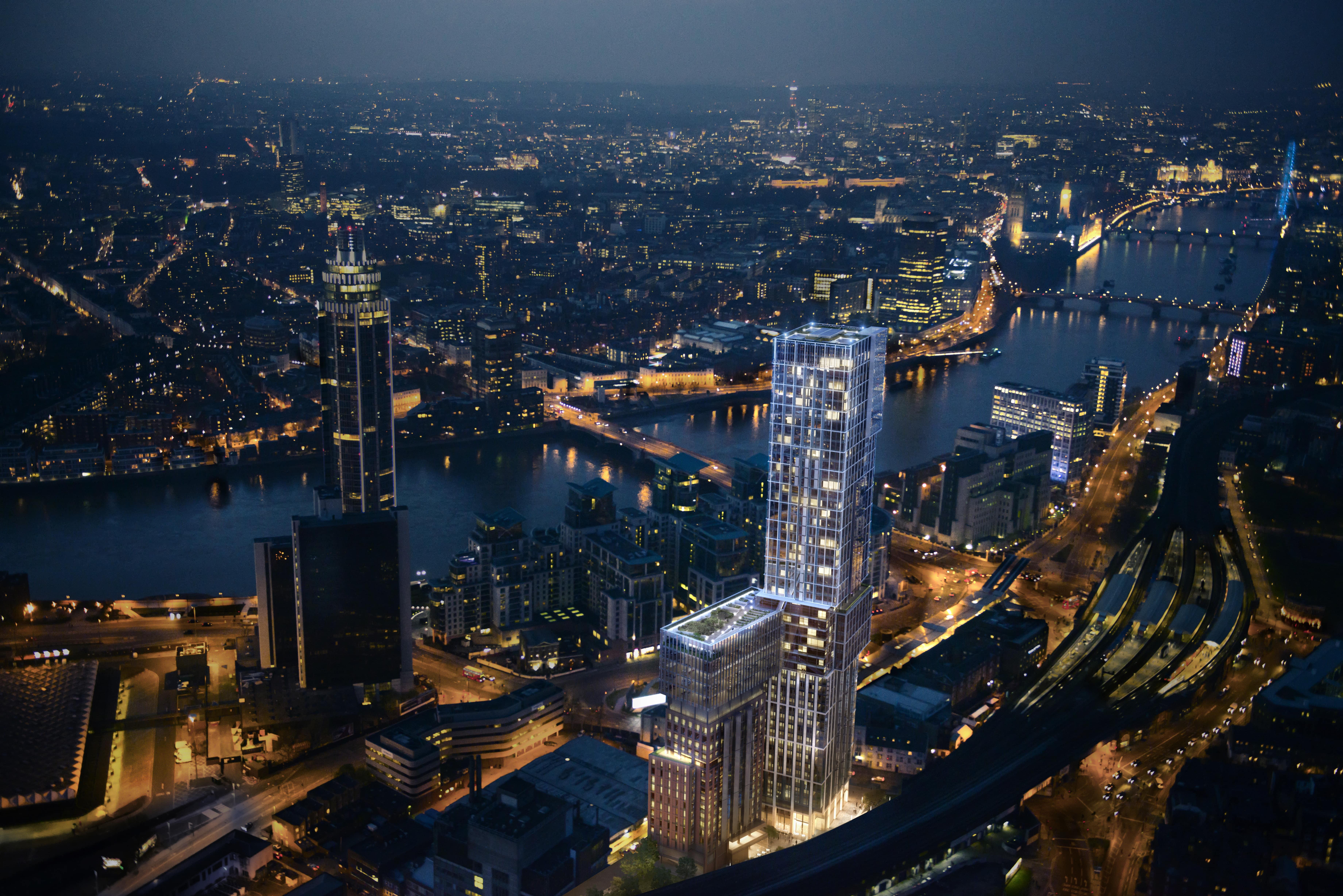 Aykon London One - Exclusive new development in Nine Elms