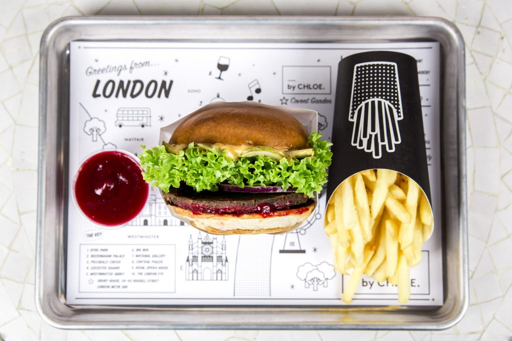 Vegan Burger- by CHLOE.