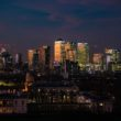 Canary Wharf night