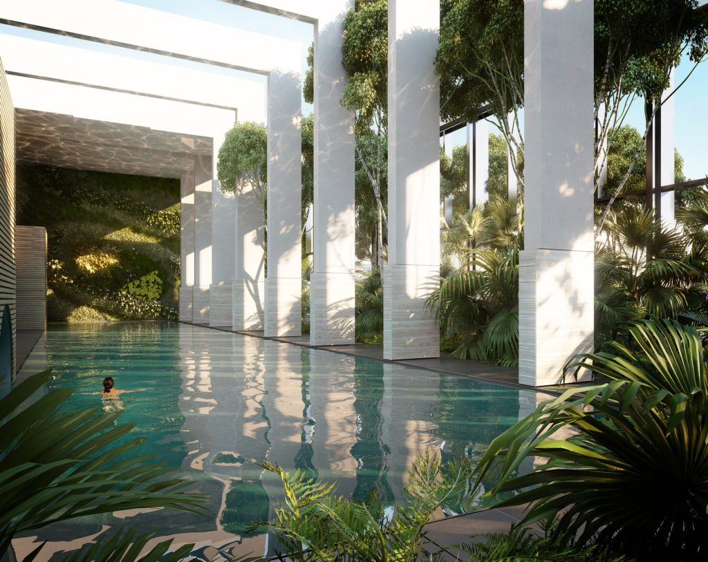 Wardian Pool